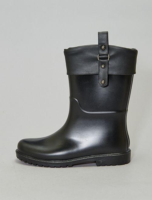Bottes de pluie                             noir