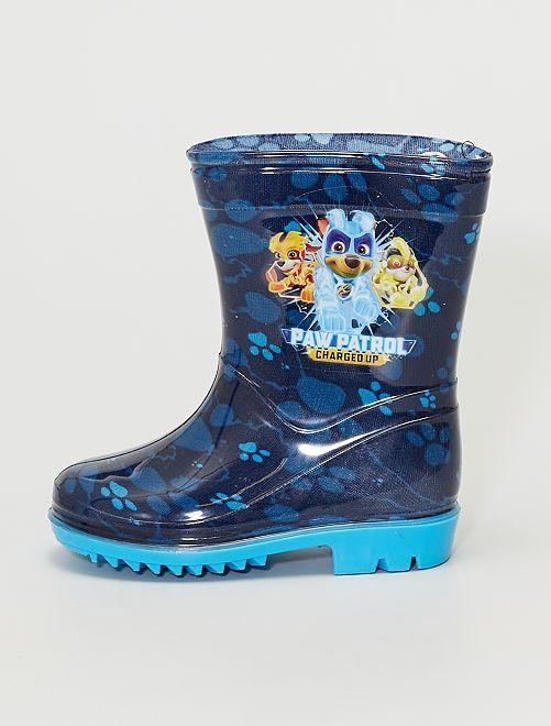 Bottes de pluie 'Pat 'Patrouille'                             bleu foncé