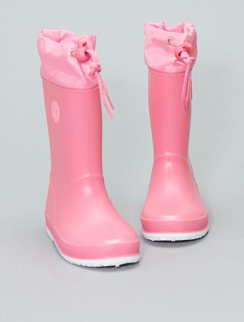 Bottes de pluie                             rose Chaussures