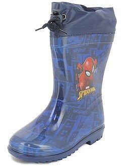 Garçon 3-12 ans - Bottes de pluie 'Spider-Man' - Kiabi