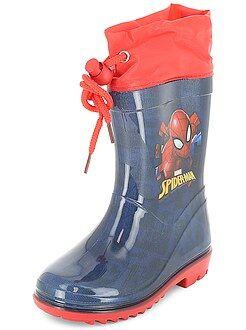 Chaussures bébé - Bottes de pluie 'Spider-Man' - Kiabi