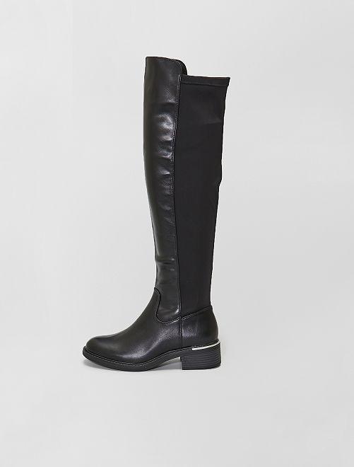 Bottes style cavalier                                         noir