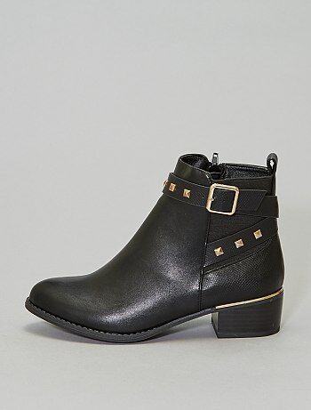 Bottines détail 'clous'