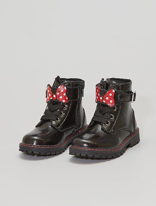 Bottines style rangers 'Minnie'                             noir