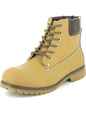 Bottines type chaussures de montagne