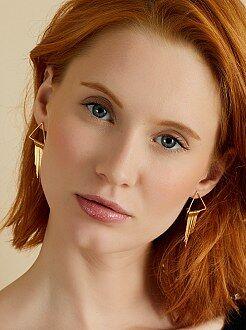Femme du 34 au 48 Boucles d'oreilles triangle