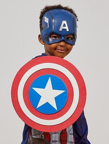 Bouclier en mousse `Captain America`