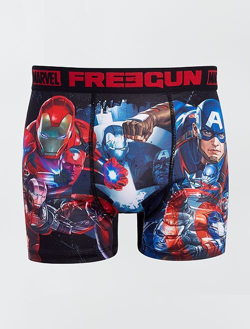Boxer 'Avengers' 'Marvel' 'Freegun'                             bleu