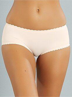 Culotte, shorty, string rose - Boxer Body Touch seconde peau de 'DIM'
