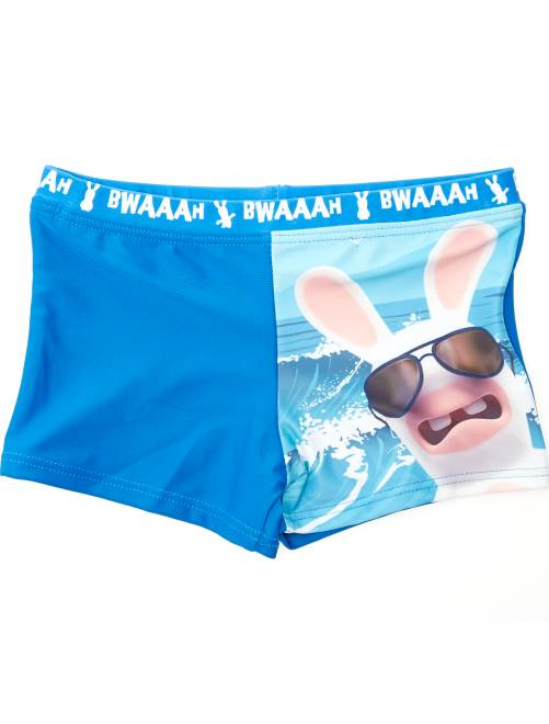 boxer de bain 39 lapins cr tins 39 gar on bleu kiabi 9 00. Black Bedroom Furniture Sets. Home Design Ideas
