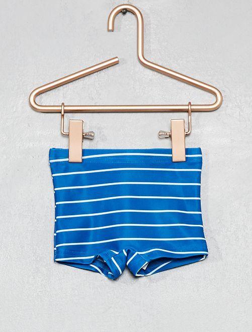 Boxer de bain rayé                             bleu rayé