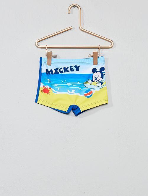 Boxer de bain stretch 'Mickey' 'Disney'                                         bleu