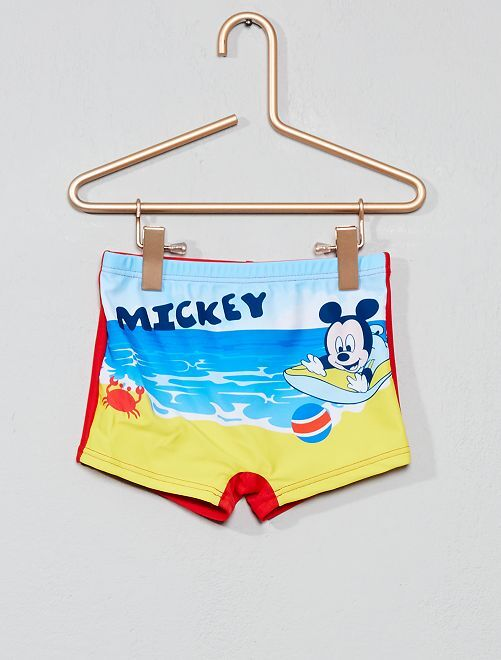 Boxer de bain stretch 'Mickey' 'Disney'                                         rouge