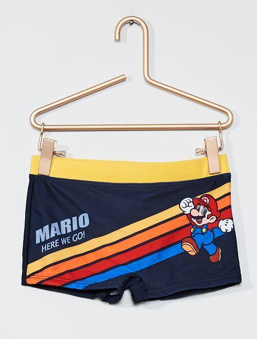 Boxer de bain 'Super Mario'                             bleu/jaune
