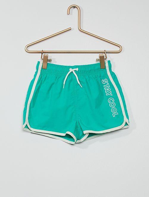 Boxer de bain                                                                 vert