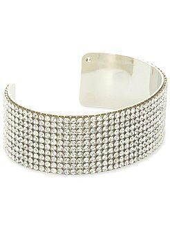 Bracelet - Bracelet rigide à strass