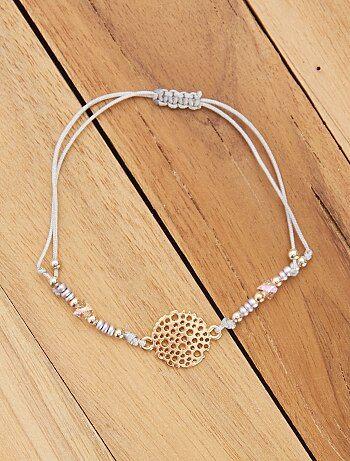 1455c1308e3 Femme du 34 au 48 - Bracelet souple avec filigrane - Kiabi