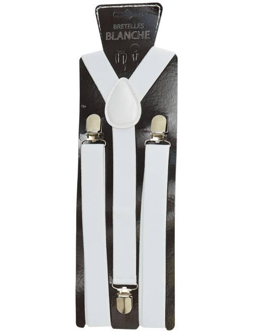 Bretelles unies                                                                 blanc Accessoires