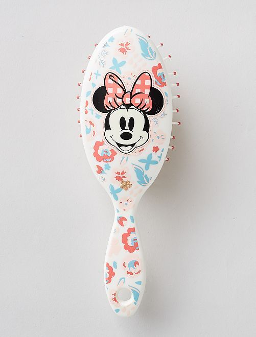 Brosse à cheveux 'Minnie'                             blanc