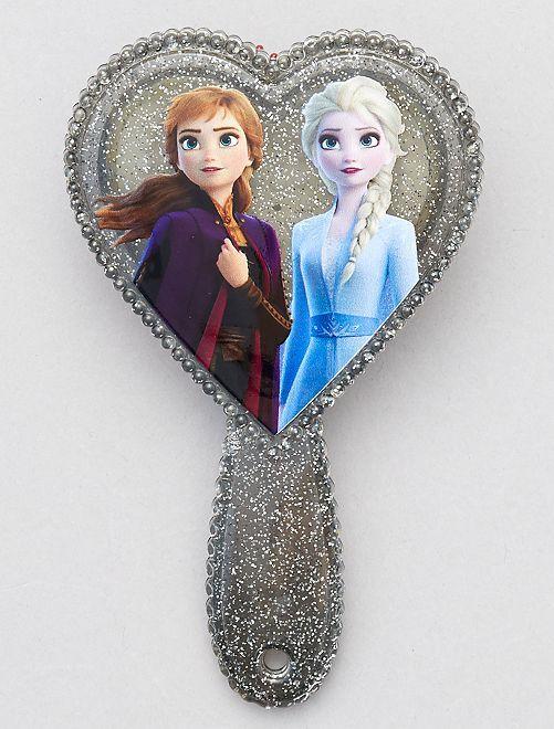 Brosse cœur 'La Reine des Neiges'                             gris