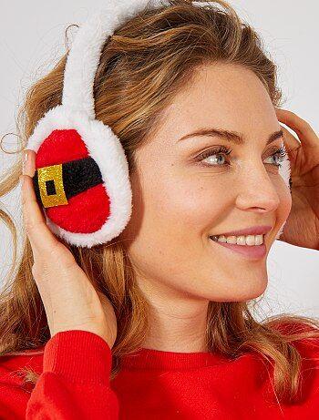 Cache oreilles de noël