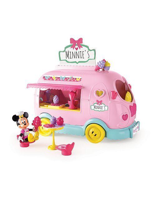 Camion marchande de glace 'Minnie'                             rose