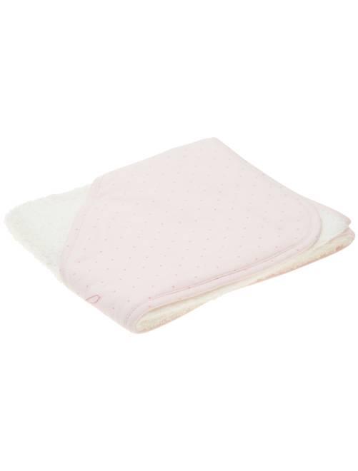 Cape de bain étoiles 'éco-conception'                                                     rose pastel Bébé fille