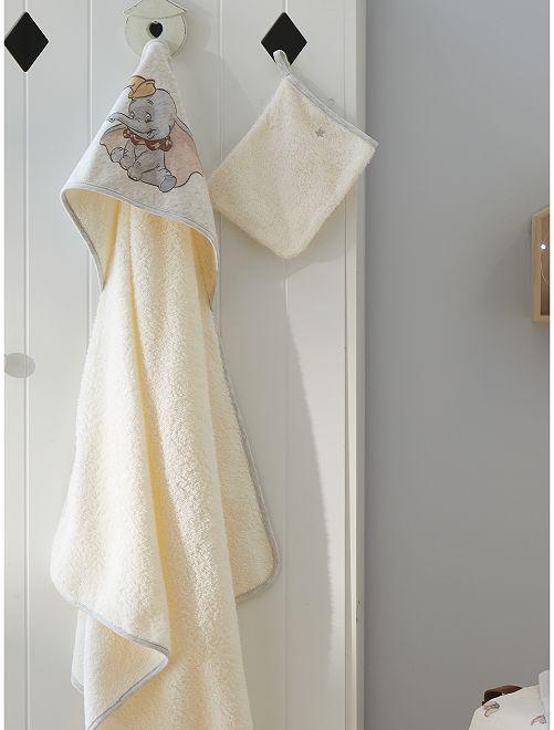 Cape de bain + gant de toilette 'Dumbo'                             dumbo