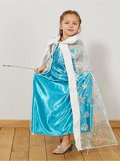 Déguisement enfant - Cape de princesse des glaces - Kiabi