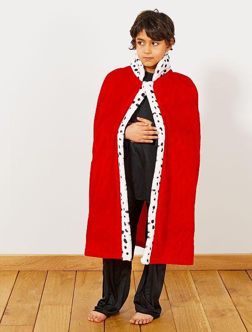 Cape de roi                             rouge Enfant