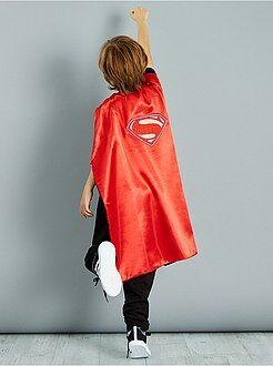 Déguisement enfant - Cape réversible 2 en 1 'Batman' et 'Superman' - Kiabi