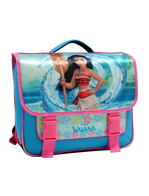 Cartable 'Vaiana' de 'Disney'                             bleu/rose