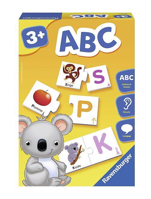Cartes-puzzles alphabet Ravensburger                             multicolore