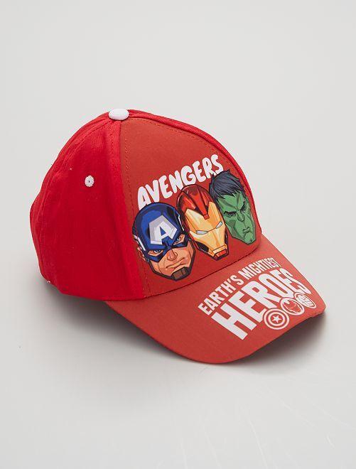 Casquette 'Avengers'                     rouge
