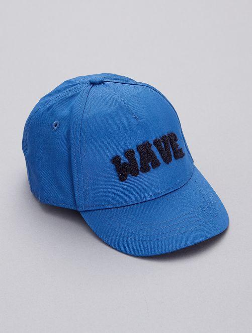 Casquette brodée                                         bleu foncé