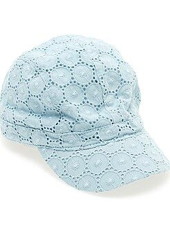 Casquette broderie anglaise