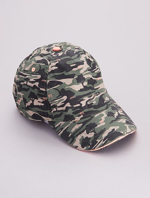 Casquette 'camouflage'                             camouflage