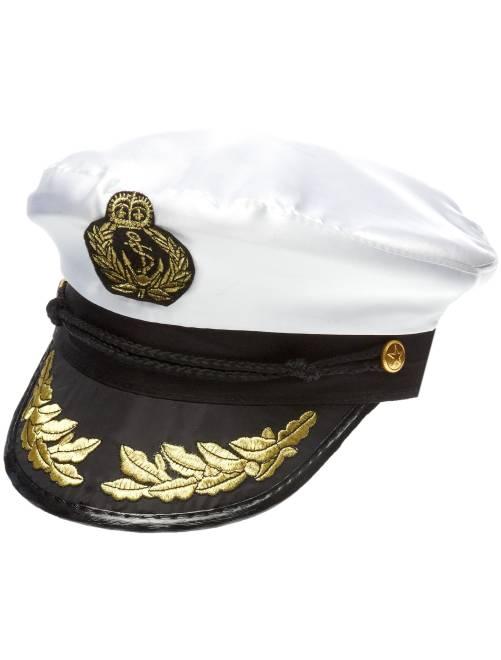 Casquette de capitaine                             blanc Accessoires