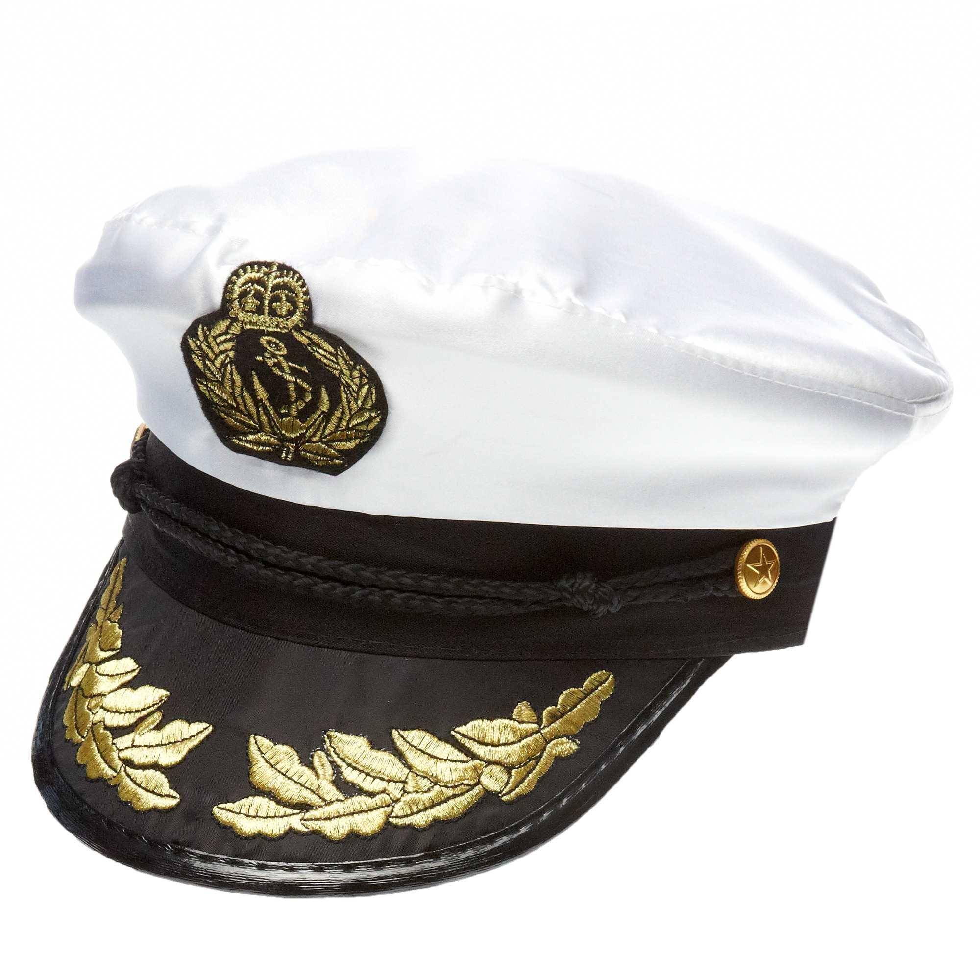 casquette de capitaine accessoires blanc kiabi 5 00. Black Bedroom Furniture Sets. Home Design Ideas