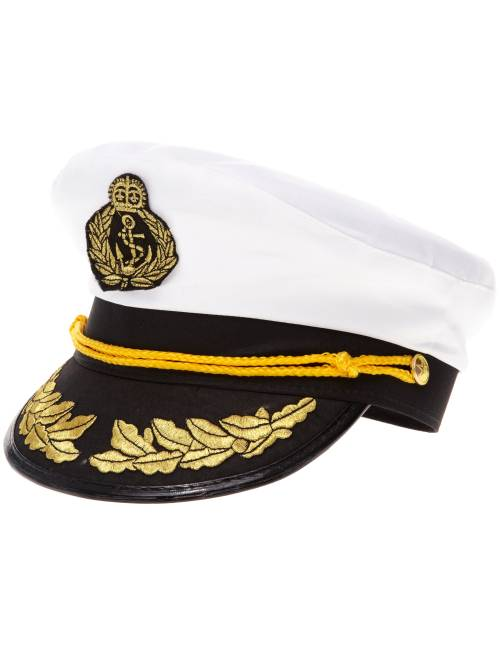 Casquette de capitaine                             blanc
