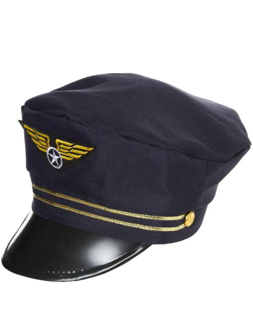 Casquette de pilote de l'air                             bleu marine