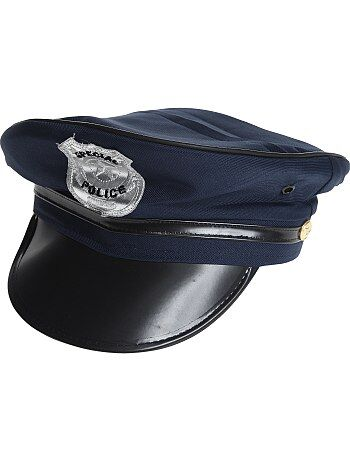 Casquette de policier avec visière et