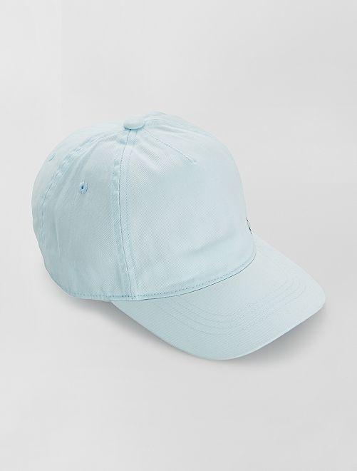 Casquette en coton                                         bleu clair