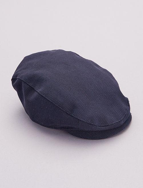 Casquette en coton                             bleu marine
