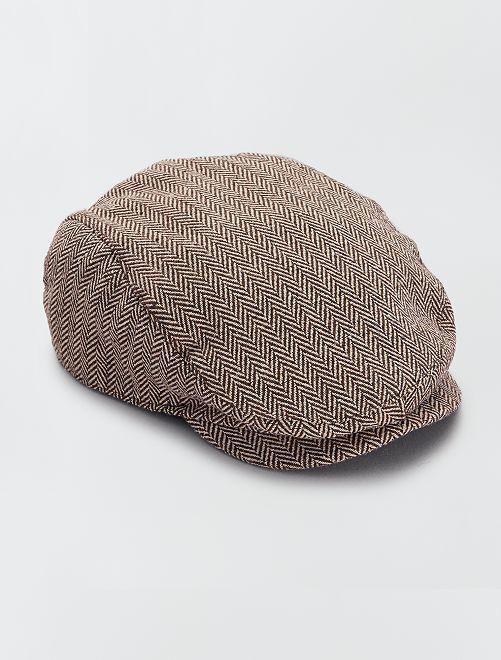 Casquette 'gavroche'                                         brun