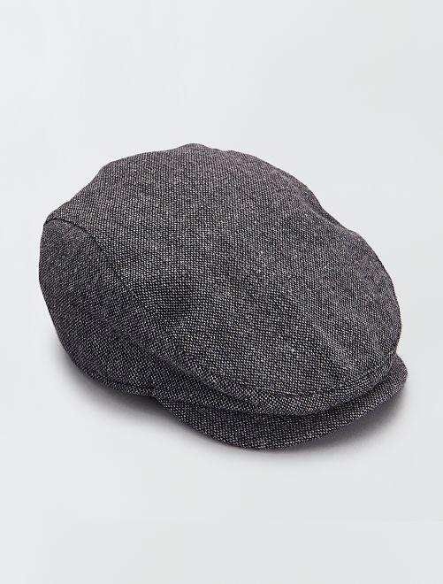 Casquette 'gavroche'                                         gris