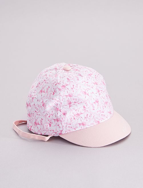 Casquette 'Minnie Mouse' 'Disney'                             rose/blanc