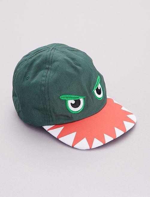 Casquette 'Requin'                             vert