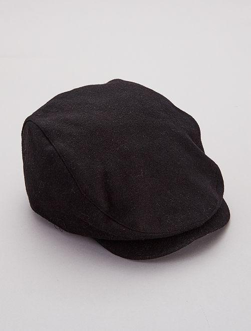 Casquette style gavroche                             noir