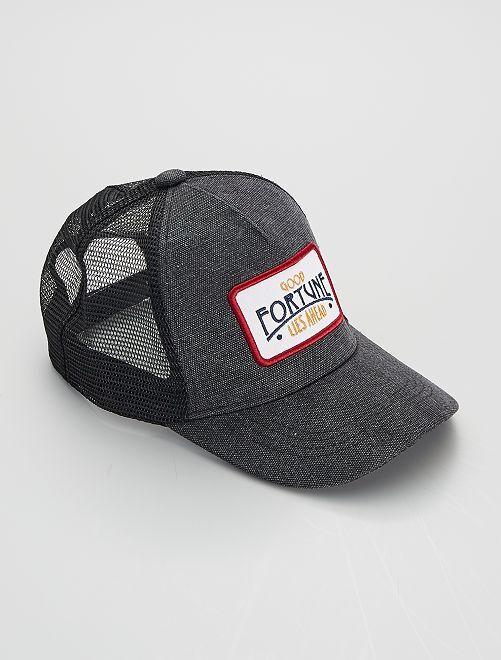 Casquette 'trucker'                                         noir